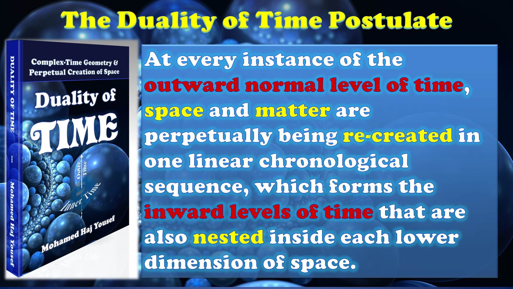 Duality of Time Postulate